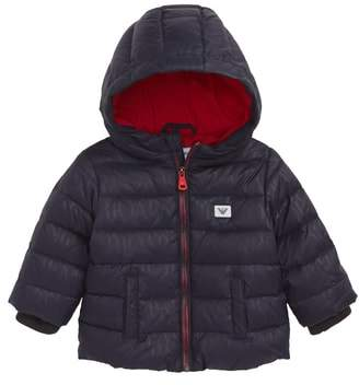 Armani Junior Hooded Down Jacket
