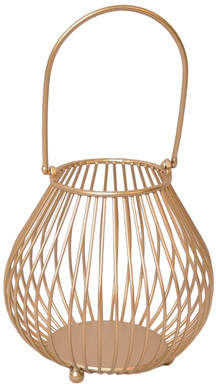 Cheungs Metal Storage Basket with Arched Handle