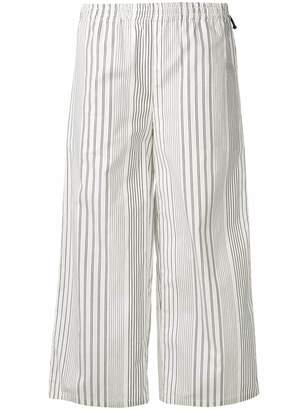 DKNY striped palazzo pants