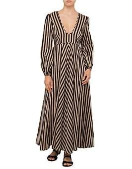 Zimmermann Jaya Plunge Long Dress