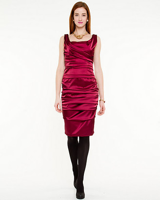 ab6f8b7b058 Satin Ruched Cocktail Dresses - ShopStyle Canada