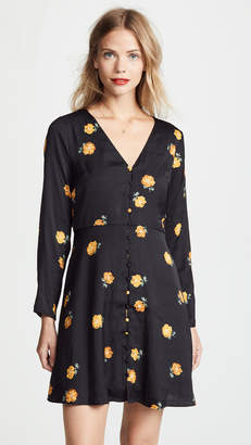 Madewell Floral Retro Dress