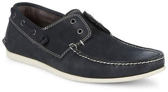 John Varvatos Star-S Leather Boat Shoes