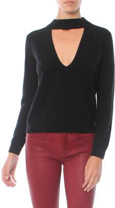 Mason by Michelle Mason Choker Sweater