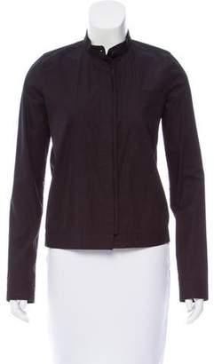 Reed Krakoff Long Sleeve Button-Up Top