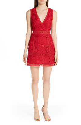 Alice + Olivia Zula Lace Minidress