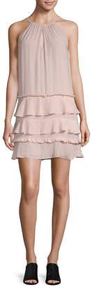 Ramy Brook Ruffled Halter Dress
