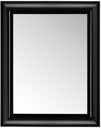 Kartell Francois Ghost Mirror - Black - Large