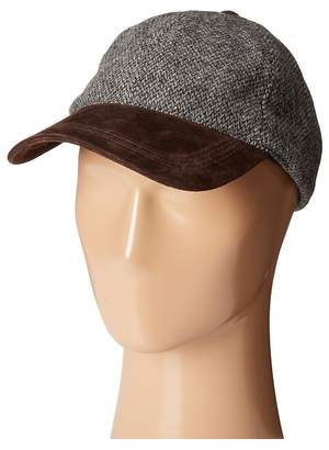 Stetson Wool Blend Cap with Suede Peak Caps