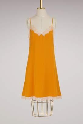Chloé Silk lingerie dress