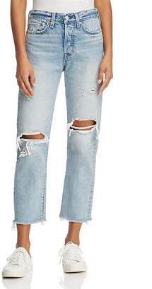 Levi's Wedgie Straight Jeans in Lost Inside $158 thestylecure.com