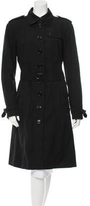 Burberry Belted Trench Coat $325 thestylecure.com