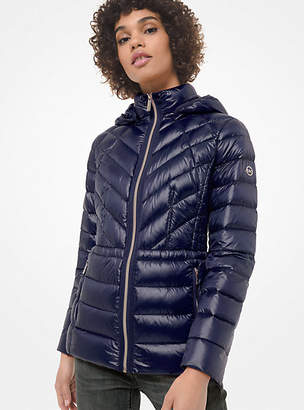 MICHAEL Michael Kors Quilted Nylon Packable Down Jacket