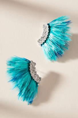 Mignonne Gavigan Mini Madeline Faux Fur Post Earrings