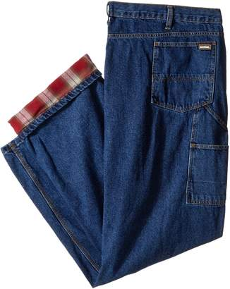 Berne Men's Big-Tall Original Flannel Lined Dungarees