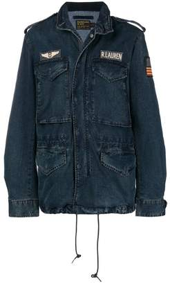 Polo Ralph Lauren denim pilot jacket