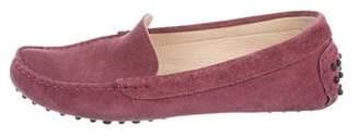 M.Gemi M. Gemi Suede Flat Loafers