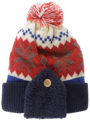 3can4on (サンカンシオン) - サンカンシオン 3can4on 雪の結晶モチーフニット帽