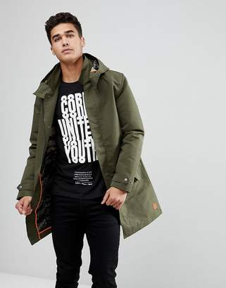 Jack and Jones Originals Parka With Fishtail