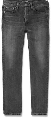 Balenciaga Denim Jeans - Men - Gray