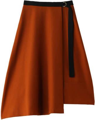 Allureville (アルアバイル) - アルアバイル エスウールラップアシメスカート