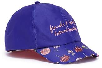 Cjw 'Giverny' embroidered floral print baseball cap