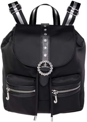 Juicy Couture Nylon Large Drawstring Backpack
