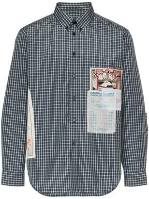 Martine Rose gig patch shirt
