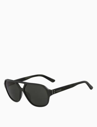 Calvin Klein navigator rivet sunglasses