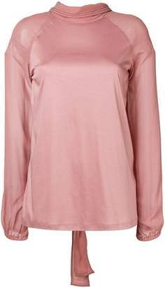Schumacher Dorothee long-sleeve fitted blouse