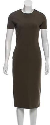 Givenchy Short Sleeve Midi Dress