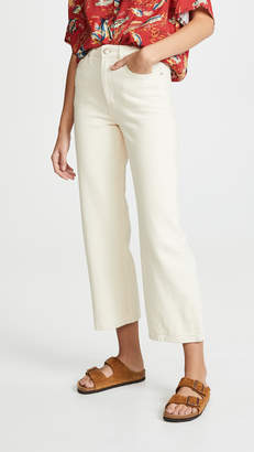 Lee Vintage Modern Cropped Wide Leg Jeans