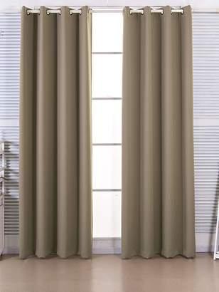 Elegant Home Fashions Ephesus Premium Insulated Grommet Window Panels (Set of 2)