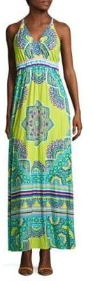 Hale Bob Printed Cover-Up Maxi Cover-Up