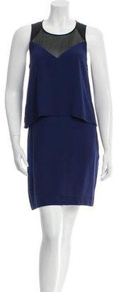 Sandro Overlay Mini Dress $70 thestylecure.com