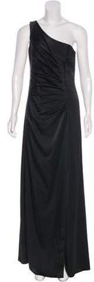 Calvin Klein Collection One-Shoulder Evening Dress w/ Tags