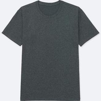 Uniqlo Men's Packaged Dry Crew Neck Short-sleeve T-Shirt