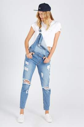 Supre Destroyed Denim Overall