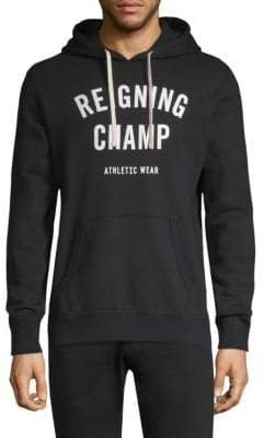 Reigning Champ Gym Logo Hoodie