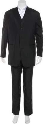HUGO BOSS Grosgrain-Trimmed Silk Tuxedo