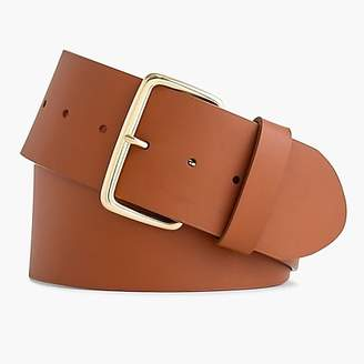 J.Crew Wide leather belt
