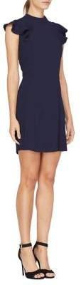 Adelyn Rae Ina Woven Ruffle Mini Dress