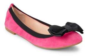 Kate Spade Wylie Too Colorblocked Suede Flats