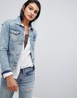 AllSaints light indigo denim jacket