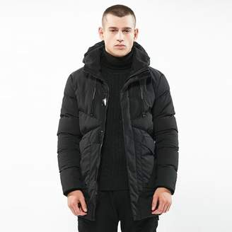 HZIJUE New Style Big Size 2018 White Duck Down Men's Winter Ultralight Down Jacket Casual