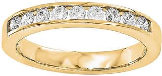 MODERN BRIDE 1/3 CT. T.W. Diamond 14K Yellow Gold Wedding Band