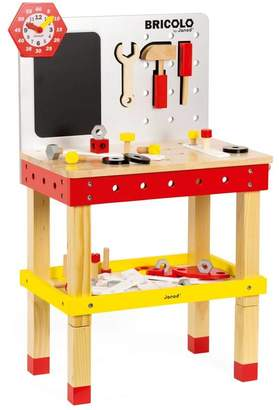 Harmony at Home Children's Eco Boutique Personalised Wooden Workbench And Tools Play Set