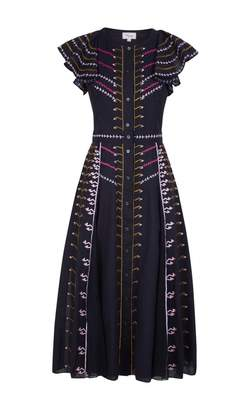 Temperley London Expedition Sleeved Dress
