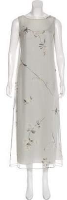 Max Mara Silk Maxi Dress