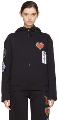 Opening Ceremony Black Sorority Patch Hoodie
